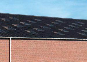 Dach mit Wellfaserzementplatten